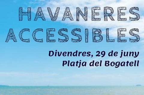 Subtitularem en directe per a les persones sordes les havaneres a la platja del Bogatell!