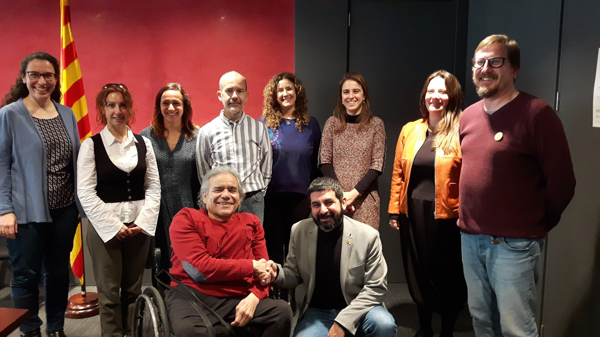 El COCARMI i el departament de Treball, Afers Socials i Famílies signen un acord sense precedents per a la inserció laboral de les persones amb discapacitat