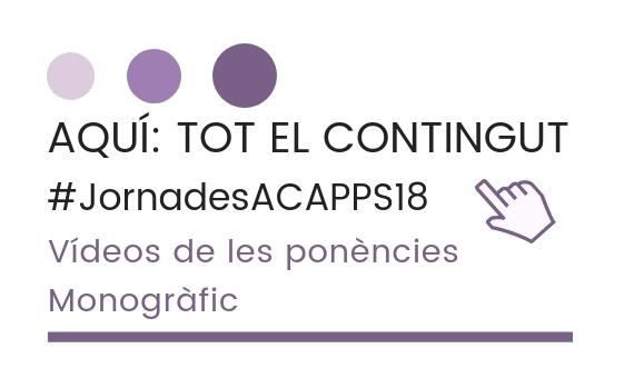 Publiquem totes les ponències i actes de la 23a edició de les Jornades de Formació de les Persones Sordes en Modalitat Oral