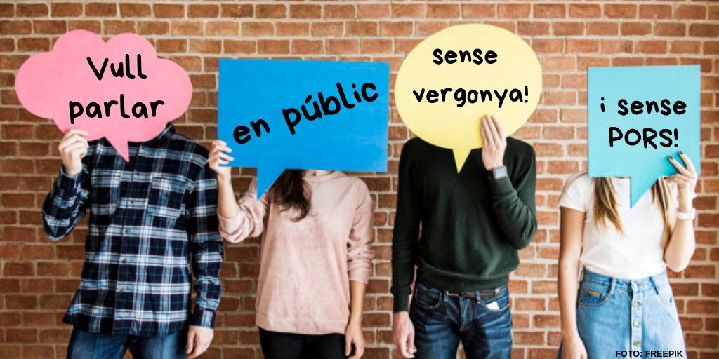 Si vols parlar en públic o en grup sense vergonya, apunta't a aquest taller per a joves i gratuït