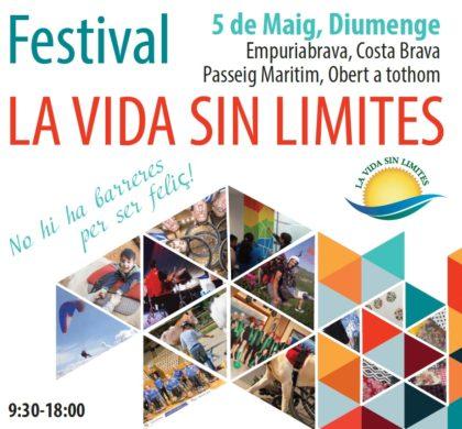 Un dia dedicat a l'esport inclusiu: 1er Festival La vida sense Límits, a Empuriabrava (Costa Brava)