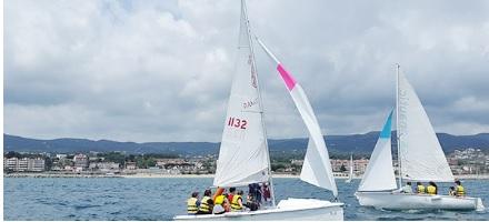 Dissabte, 27 d'abril: activitat gratuïta de vela amb el Club Nàutic El Balis