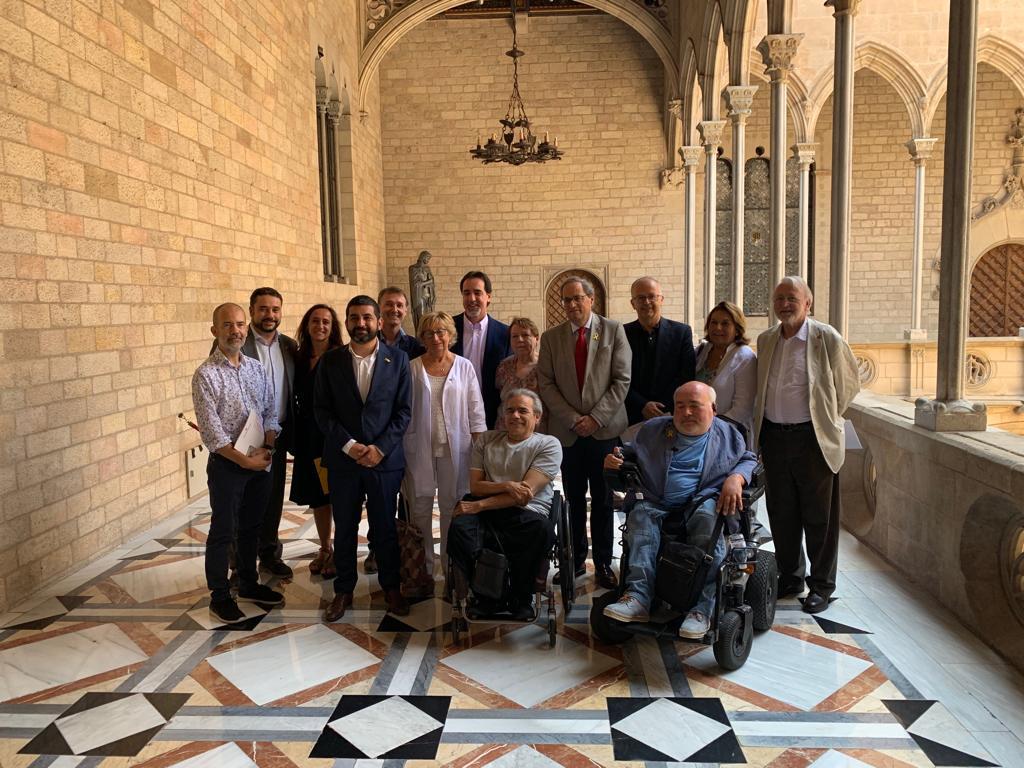 Celebrem l'impuls del Pacte Nacional sobre els Drets de les Persones amb Discapacitat