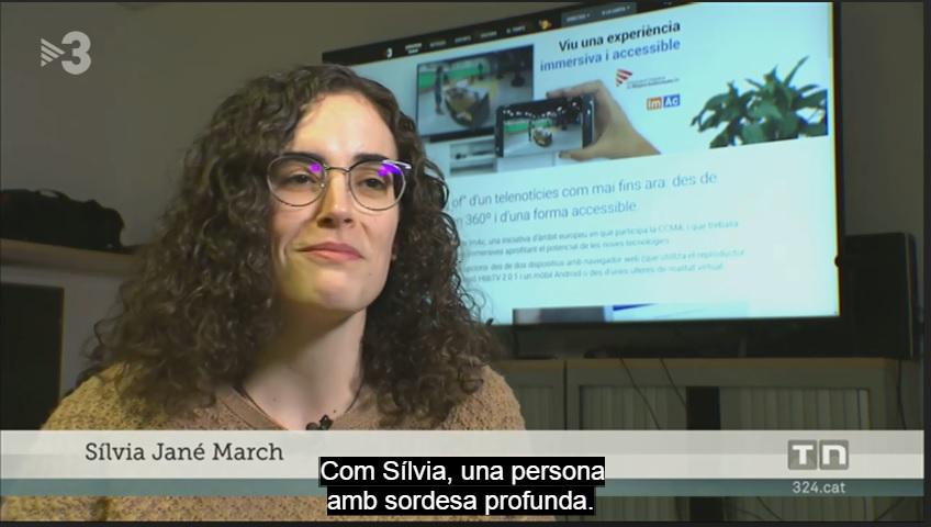 ACAPPS participa en el testeig dels continguts immersius 360º accessibles del projecte ImAc de la CCMA
