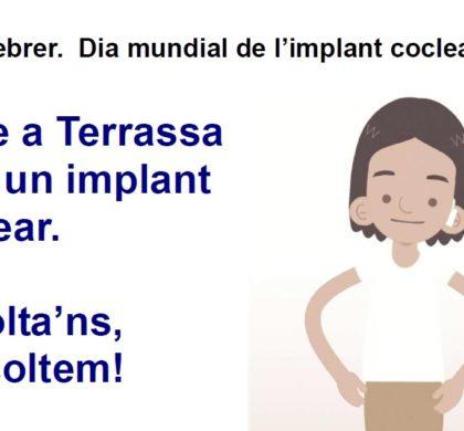 Celebrem també a Terrassa el Dia Mundial de l'Implant Coclear