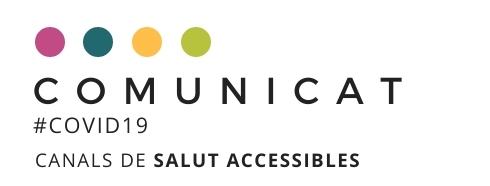 COVID19: Canals de SALUT accessibles a les persones amb sordesa