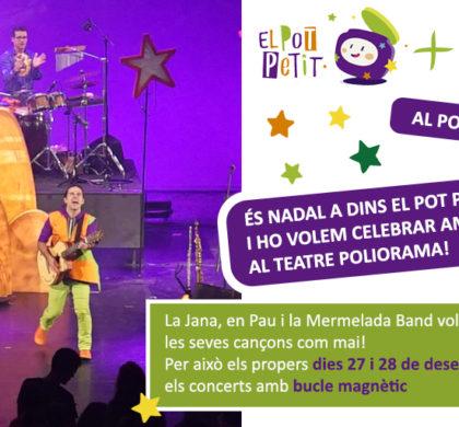 """El concert """"És Nadal a dins El Pot Petit"""", accessible amb bucle per als infants amb sordesa"""