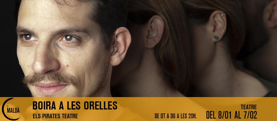 Enric Romaní, escenògraf amb sordesa de naixement, protagonitza Boira a les orelles, l'obra que parla de la seva sordesa