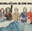 8M: Acte commemoratiu i accessible amb motiu del Dia de la Dona a Barcelona