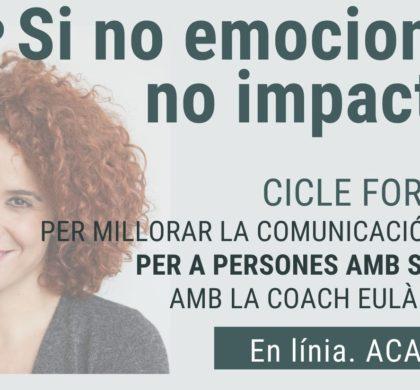 Com comunicar millor i més eficaçment: formació gratuïta amb la coach Eulàlia Feliu