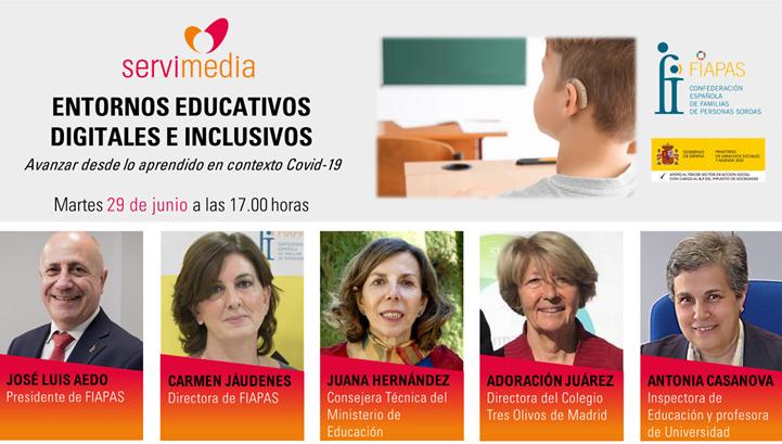 Avui, FIAPAS i Servimedia organitzen un diàleg sobre Entorns educatius digitals i inclusius