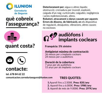Assegurances per a audiòfons i implants coclears: descobreix-les!
