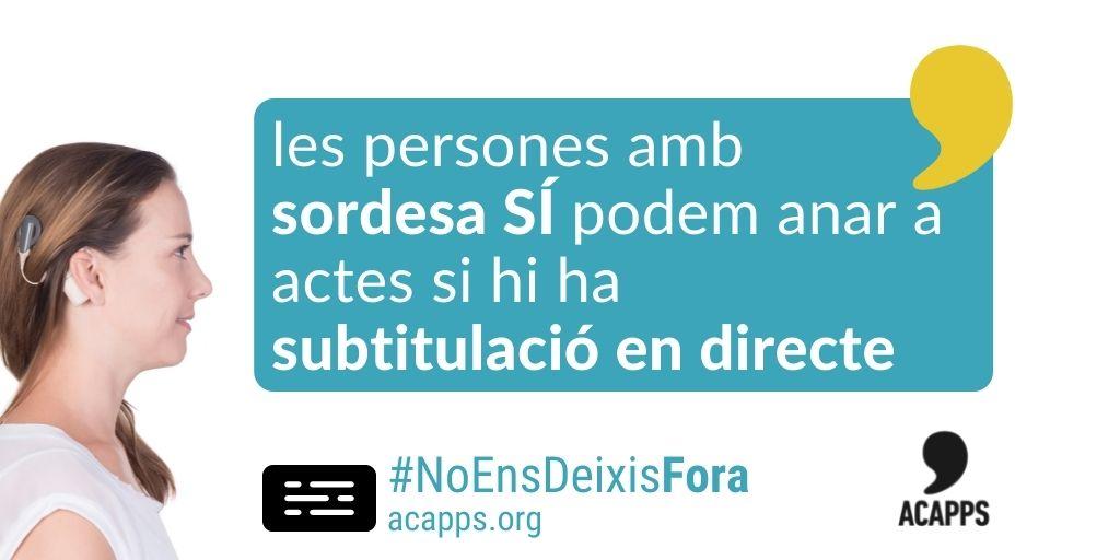 L'audiència i el plenari del districte de Nou Barris de Barcelona, ara amb subtitulació en directe!